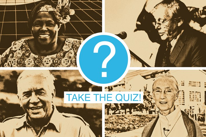 Quiz: Which famous conservationist are you?