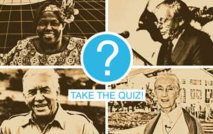 Earth Day quiz: Which famous conservationist are you?