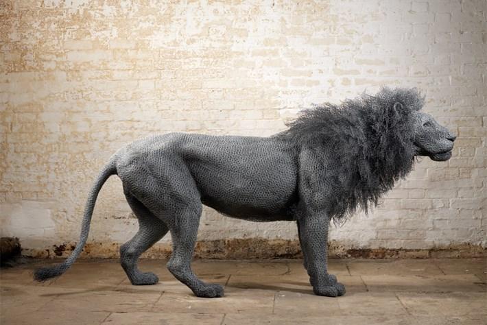 Artist spotlight: Kendra Haste's menagerie of strange wire beasts