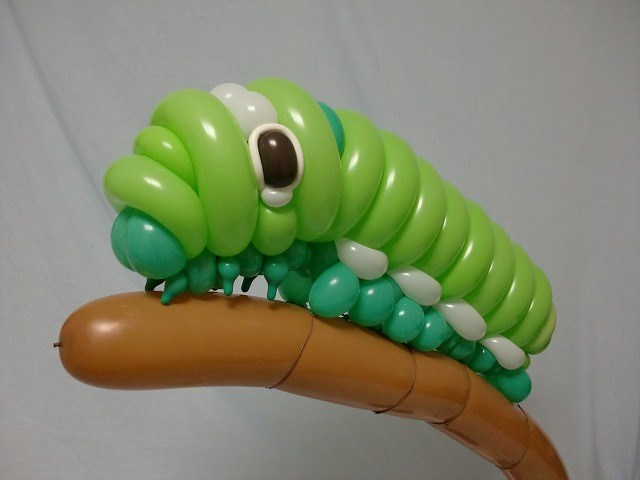 Caterpillar Balloon Animal 2015 06 04