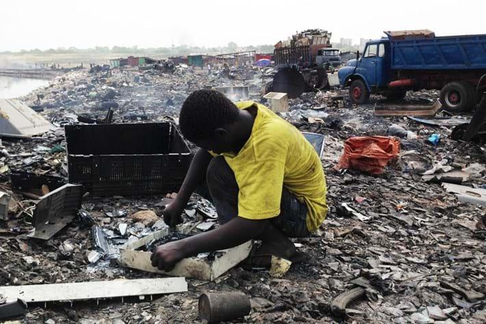 Ghana E Waste Children 26 03 2014