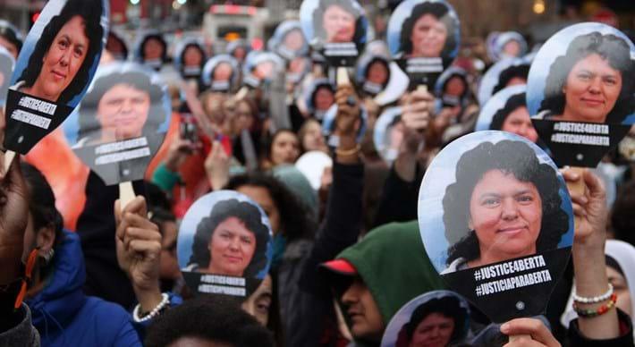 Berta Caceres Protest 2016 06 24