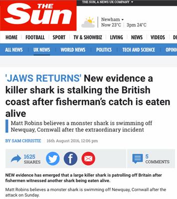 The Sun Jaws Returns 2016 08 29