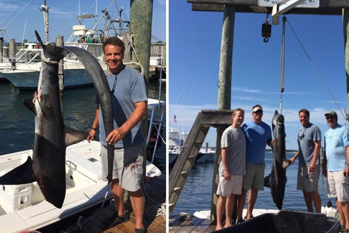 New York governor Andrew Cuomo's shark catch was legal — but should we let him off the hook?