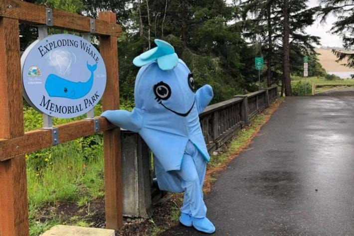Blast from the Past: Newly named park honours Oregon's exploding whale