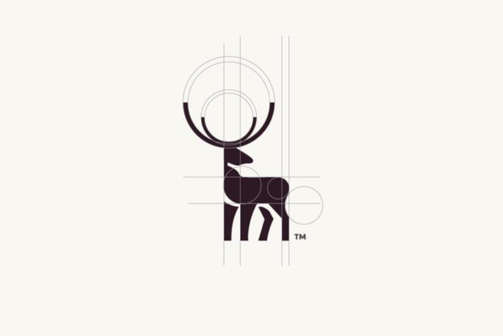 Deer Logo Circles Tom Anders Watkins 2014 16 07