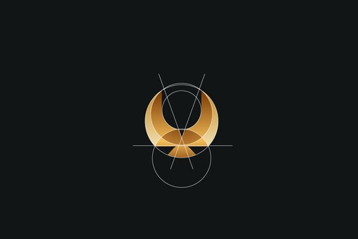 Eagle Logo Circles Tom Anders Watkins 2014 16 07