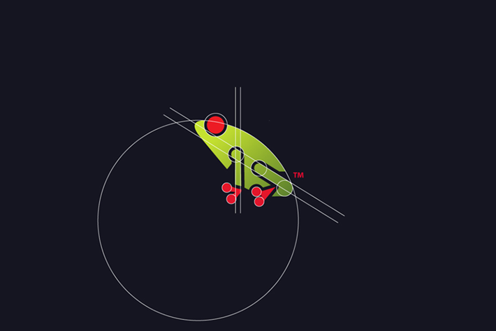 Frog Logo Circles Tom Anders Watkins 2014 16 07