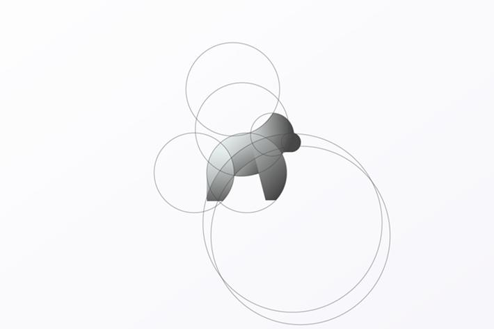 Gorilla Logo Circles Tom Anders Watkins 2014 16 07
