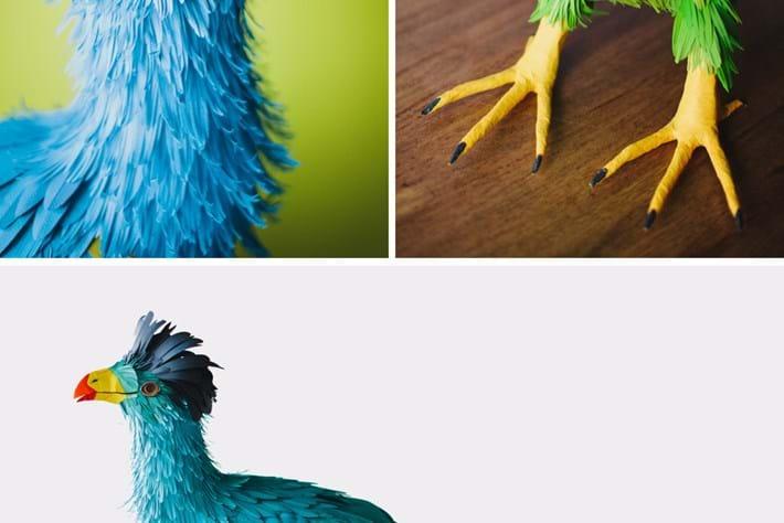 paper bird turaco 2014 08 01