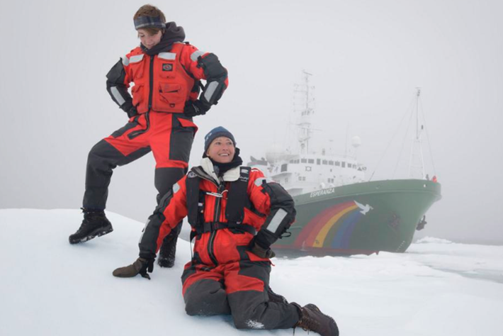 Without the ice the Earth will fall: Actress Emma Thompson fights for the Arctic