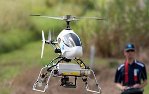 Australia sends robocopters to hunt down rainforest invaders