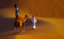 Raffia the camel takes the reins for Google Street View in the Liwa Desert