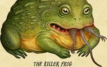 Creepy amphibian art to kickstart your Halloween
