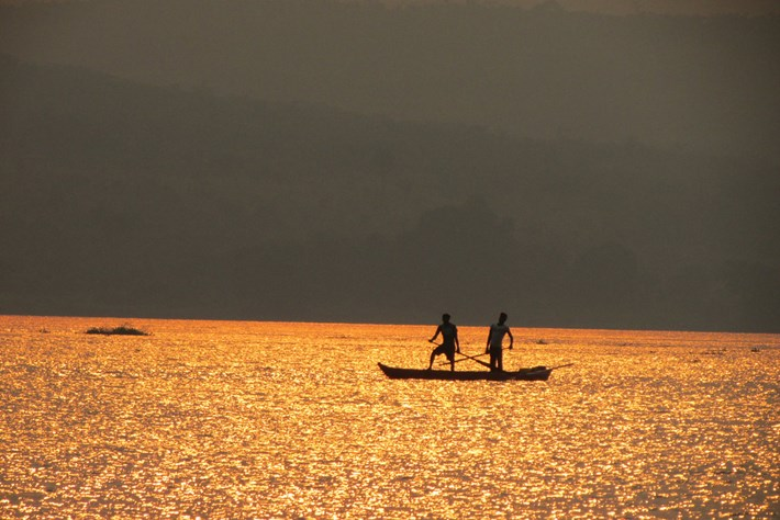 Congo River Sunset 2014 11 05