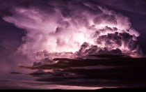 Into the storm: Video captures the menacing beauty of violent weather